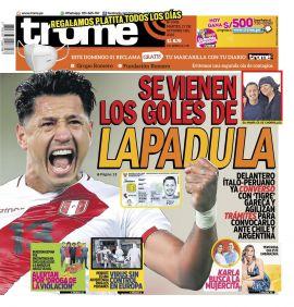 Diario Trome en PerúQuiosco